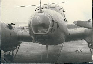 AVRO ANSON V light attack bomber