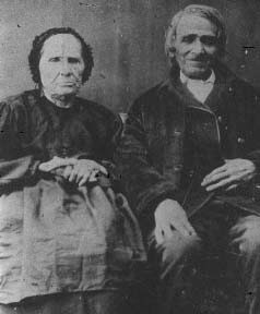 Alexis St Martin and his wife