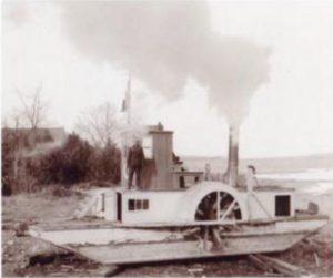 Alligator Tug Boat Canadian Logging History