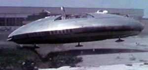 Color photo of Avro Car UFO