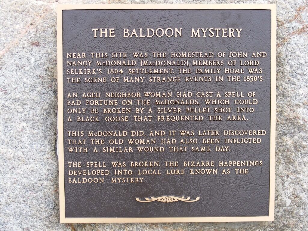 The Baldoon Mystery
