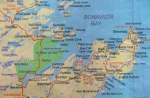 Strange Coffins Bonavisat Bay Canada