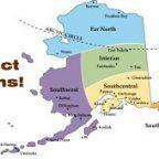 Alaska Boundary Dispute Map