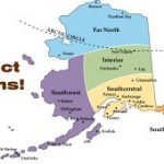 Alaska Boundary Dispute Map