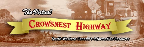 Crownest Highway banner