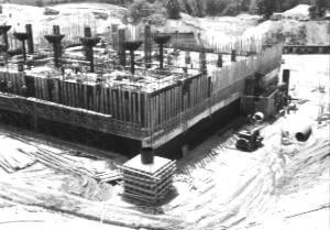 Image of early Diefenbunker Construction
