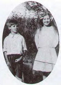 Childhood photo of Doreen Ashburnham