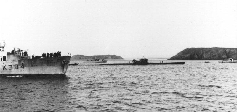 German U-190 Battleship