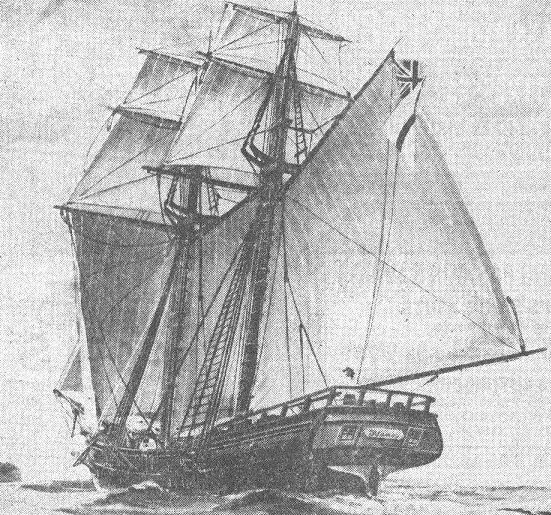 HMS Nancy Schooner