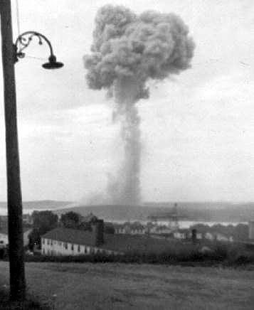 Explosion In Halifax 1945