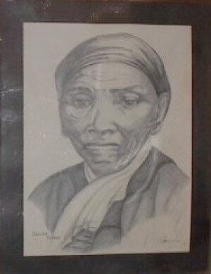 Drawing of Harriet Tubman