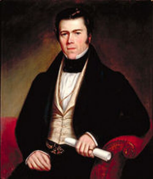 Portrait of John Redpath