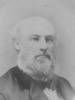 Black and White portrait of Joseph Currier Watsons Mill.