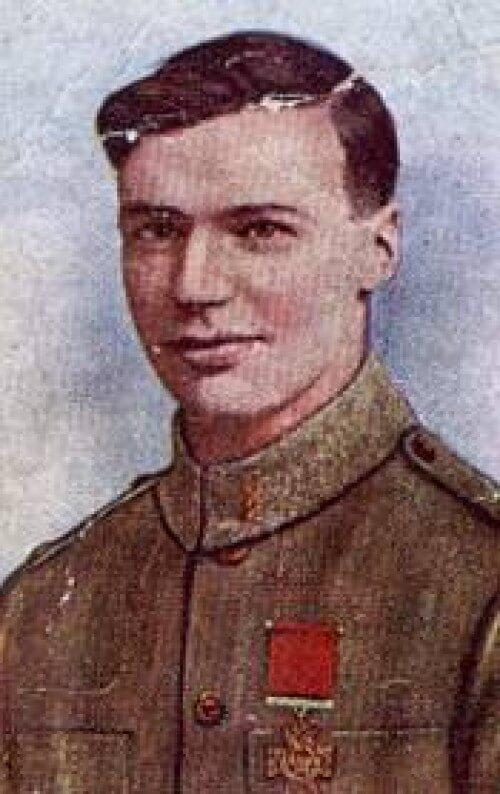 Victoria Cross Corporal Leo Clarke