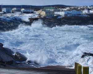 Waves and Surf at Pouch Cove