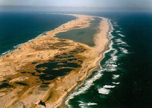 Arial View of Sable Island