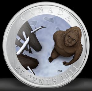 Canada Sasquatch Quarter