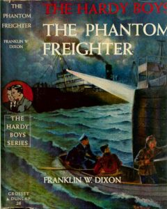 Book Cover of The Hardy Boys Phantom Freighter