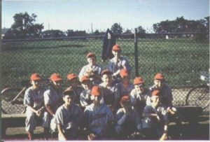 Image of 1960 Little League Champs Trenton Air Base
