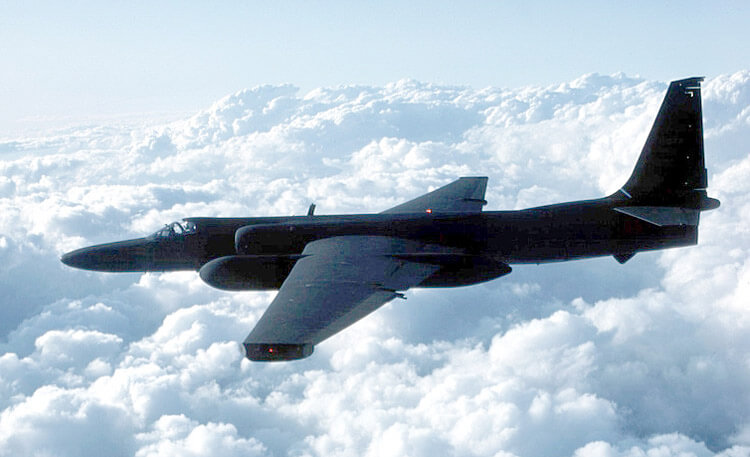 U2 Spy Plane in Flight