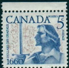 Canadian Stamp honoring Adam Dollard