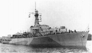 Frigate of the Loch class HMCS Loch Morlich (K 517)