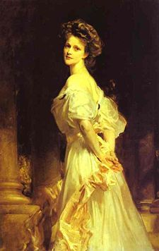painting of Lady Astor