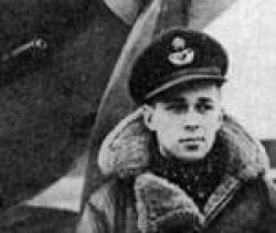 Richard Rohmer in flight jacket