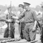 Soldiers with Ross Rifles