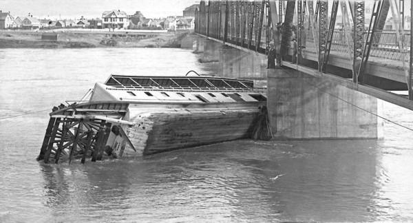 Saskatoon River Boat Shipwreck