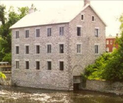 Watson's Mill located on the Rideau River in Manotick, Ottawa.