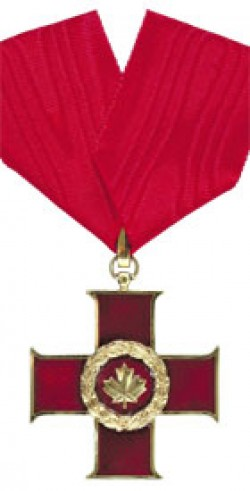 Canadian Cross of Valour Decoration
