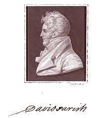Portrait of David Parish War of 1812