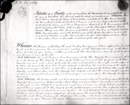 Written Text of Treaty 7