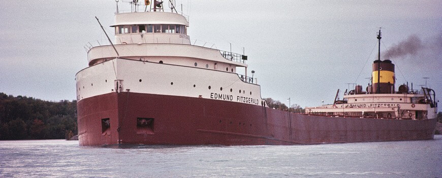 Edmund Fitzgerald Photo 1971