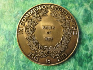 Battle of York Commemorative