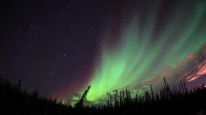 Northern lights Manitoba
