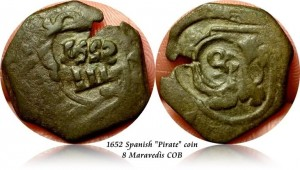 Spanish Pirate Coin found on Oak Island