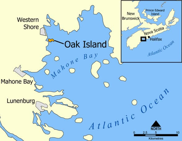 Where is Oak Island