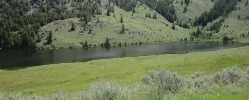 Chopaka Lake, WA, where the 'Memorial Day' Sasquatch footage was taken.
