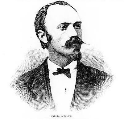 Calixa Lavallee composer of first Canadian National Athem