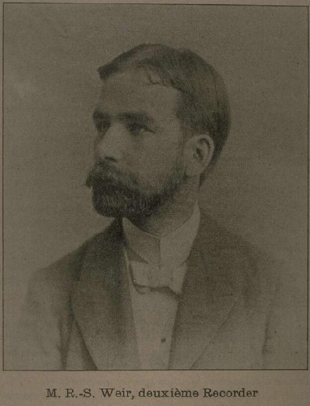 Robert Stanley Weir wrote English translation of O Canada