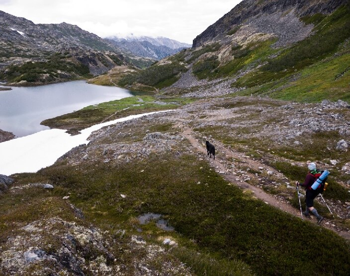 The Chilkoot Trail.