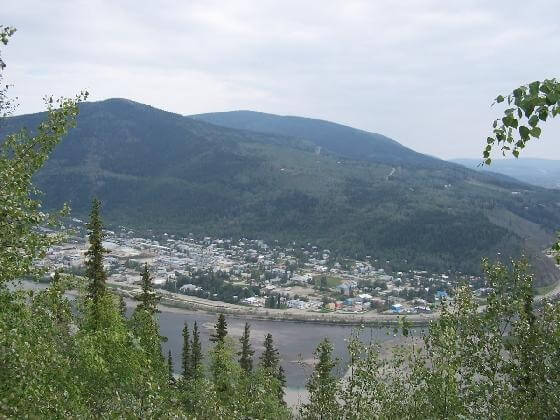 Dawson City today.