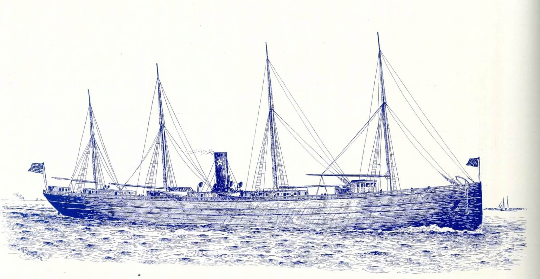 A sketch of the Excelsior.