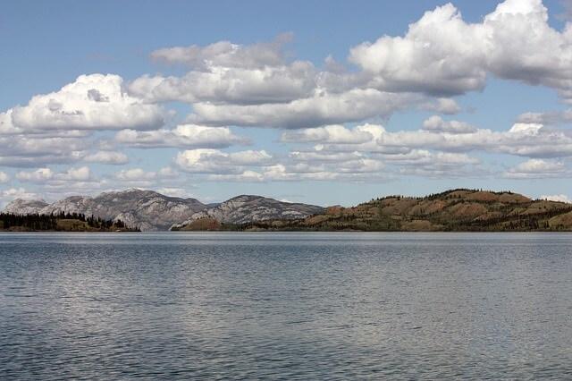 Lake Laberge.