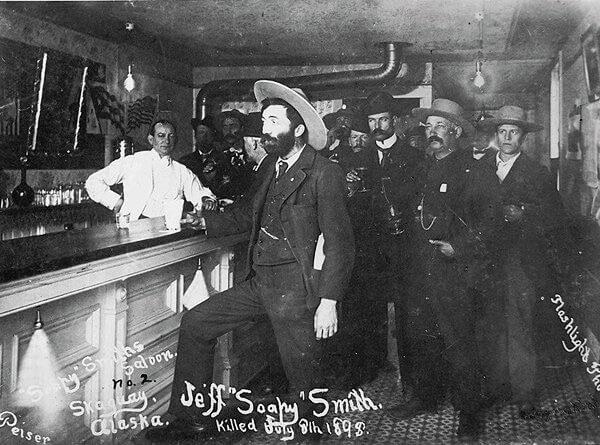 A Skagway saloon.