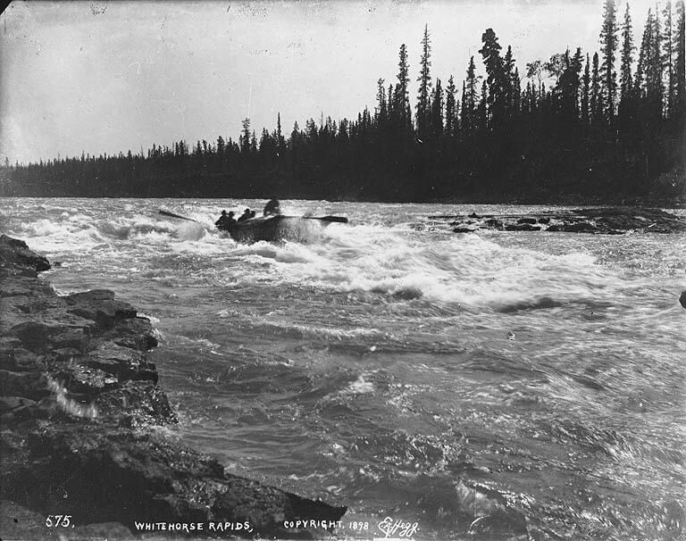 White Horse Rapids, 1898.