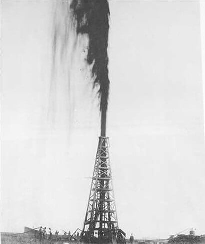 Blowouts, or gushers, are icons of the early oil and gas industry.