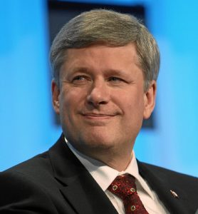 Stephen Harper, former Canadian Prime Minister and leader of the Conservative Party of Canada, hails from Calgary, Alberta.